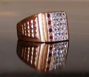 Diamond ring found metal detecting