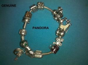 Pandora Bracelet found metal detecting