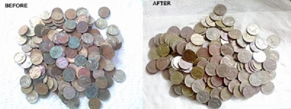 TUMBLED COINS