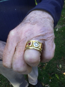 ring metal detecting find
