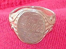 Signet Ring found metal detecting