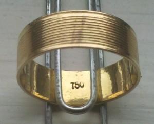 gold ring found metal detecting